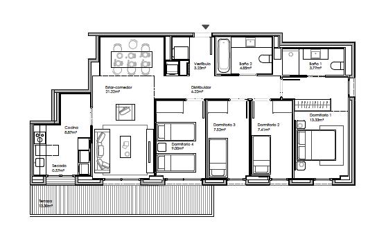 Martorell – 4 habitaciones