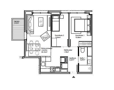 Martorell – 2 habitaciones